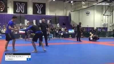OILSON VALDINE ALVIM J vs JUSTIN PACK 2019 Pan IBJJF Jiu-Jitsu No-Gi Championship