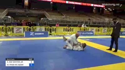 SIDNEY RAY SEXTON JR vs MICHAEL RYAN MC ADAM 2021 Pan Jiu-Jitsu IBJJF Championship