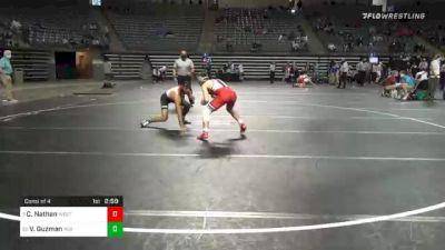141 lbs Consolation - Caleb Nathan, Western Wyoming vs Victor Guzman, Indian Hills