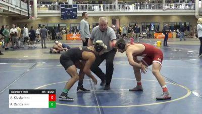 Quarterfinal - Alexander Klucker, Lock Haven vs Alex Carida, Bloomsburg