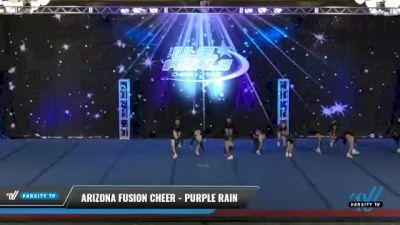 Arizona Fusion Cheer - Purple Rain [2021 L1.1 Mini - PREP Day 2] 2021 The U.S. Finals: Phoenix