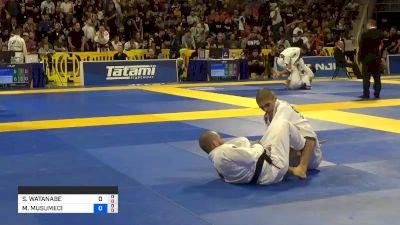 SHOHEI WATANABE vs MICHAEL MUSUMECI JR. 2019 World Jiu-Jitsu IBJJF Championship