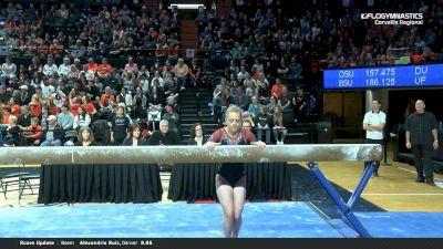 Diana Chesnok - Beam, Denver - 2019 NCAA Gymnastics Regional Championships - Oregon State