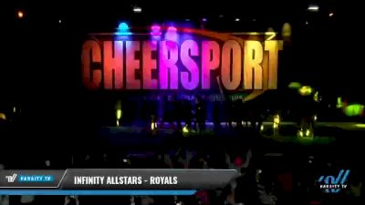 Infinity Allstars - Royals [2021 L6 International Open Coed - Small Day 1] 2021 CHEERSPORT National Cheerleading Championship