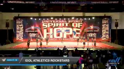 Idol Athletics Rockstars [2021 Youth Small 2 D2 Day 1] 2021 Universal Spirit: Spirit of Hope National Championship