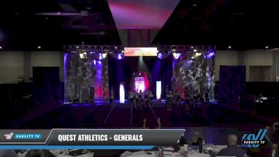 Quest Athletics - Generals [2021 L3 Junior - D2 - Small Day 2] 2021 Queen of the Nile: Richmond