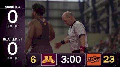 285 Gable Steveson (MN) vs Derek White (OSU)