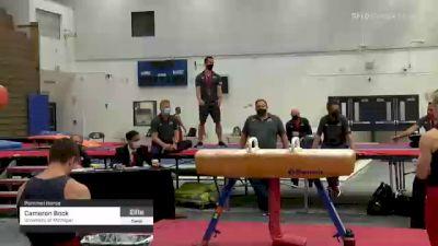 Cameron Bock - Pommel Horse, University of Michigan - 2021 Men's Olympic Team Prep Camp