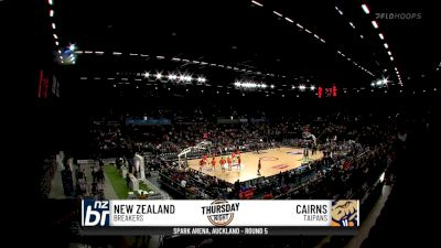 Full Replay - Cairns vs New Zealand - Cairns vs New Zealand   NBL - Oct 31, 2019 at 7:30 PM NZDT