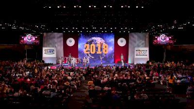 The Stingray All Stars Marietta - Steel [2018 Senior Large Coed Finals] The Cheerleading Worlds