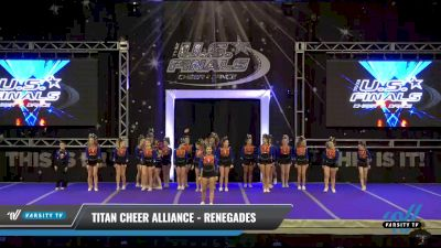 Titan Cheer Alliance - Renegades [2021 L2 Performance Recreation - 14 and Younger (NON) - Large Day 1] 2021 The U.S. Finals: Ocean City