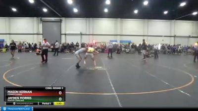 119 lbs Cons. Round 3 - Mason Kernan, Pennsylvania vs Jayden Morris, South Carolina