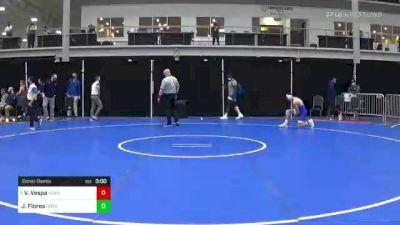 141 lbs Consolation - Vinny Vespa, Hofstra vs Julian Flores, Drexel