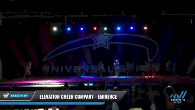 Elevation Cheer Company - Eminence [2021 L3 Senior - D2 Day 2] 2021 Universal Spirit-The Grand Championship