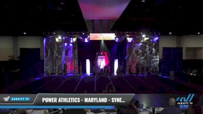 Power Athletics - Maryland - Synergy [2021 L3 Junior - Small Day 2] 2021 Queen of the Nile: Richmond