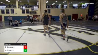 113 lbs Semifinal - Dayton Delviscio, Malvern Prep vs Wil Guida, St. Paul's