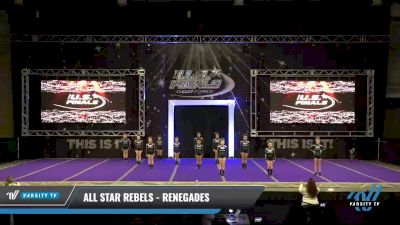 All Star Rebels - Renegades [2021 L1.1 Youth - PREP - Small - A Day 1] 2021 The U.S. Finals: Ocean City