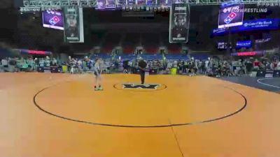 100 lbs Consi Of 8 #1 - Robert Allcroft, Florida vs Carson Jackson, Oregon
