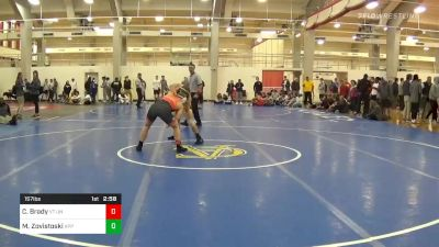Quarterfinal - Connor Brady, VT Unattached vs Matthew Zovistoski, Appalachian State