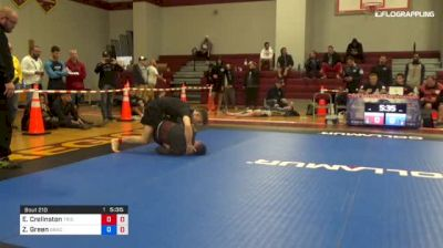 Ethan Crelinsten vs Zach Green 1st ADCC North American Trials