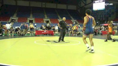 145 lbs Cons Semis - Manzona Bryant, Ohio vs Joseph Zargo, New Jersey