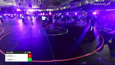 120 lbs Round Of 32 - Garett Hicks, Mad Dawg vs Landon Wood, Sheridan WC