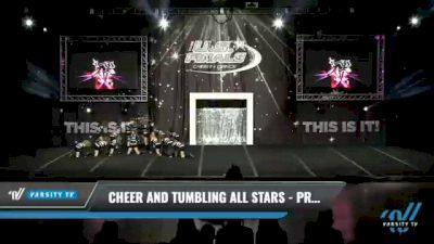 Cheer and Tumbling All Stars - Prowlers [2021 L1 Youth Day 1] 2021 The U.S. Finals: Kansas City