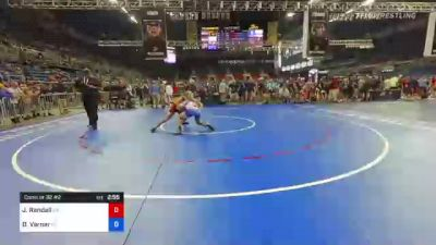 170 lbs Consi Of 32 #2 - Jaxon Randall, Oklahoma vs David Varner, North Carolina