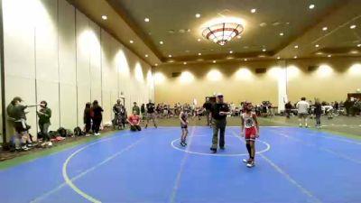 53 lbs Rr Rnd 2 - Jaisen Sharma, Warhawks Wrestling vs Korbin Kiessling, Rampage Wrestling