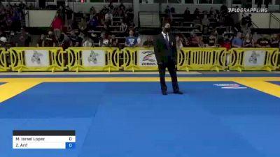 Manuel Israel Lopez vs Zain Arif 2021 Pan IBJJF Jiu-Jitsu No-Gi Championship