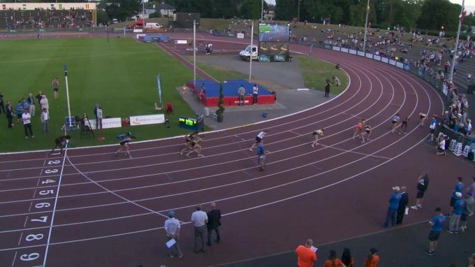 Watch Hanna Green's 2:01 At Morton Games