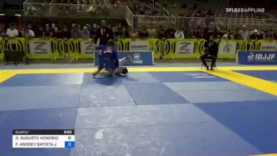 OSVALDO AUGUSTO HONORIO MOIZINHO vs FABRICIO ANDREY BATISTA JUNIOR 2021 Pan Jiu-Jitsu IBJJF Championship