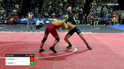 133 lbs Round Of 16 - Austin Gomez, Iowa State vs Ty Smith, Drexel