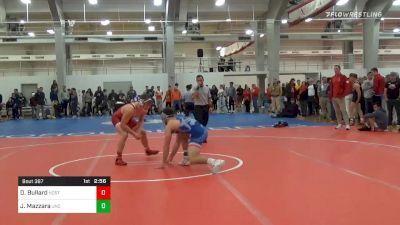 Quarterfinal - Daniel Bullard, NC State vs Joey Mazzara, UNC Unattached