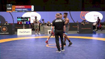 74kg Quarter-Final - Frank Chamizo, ITA vs Daniyar Kaisanov, KAZ