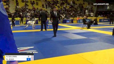 NICOLE SULLIVAN vs NATHIELY JESUS 2019 World Jiu-Jitsu IBJJF Championship