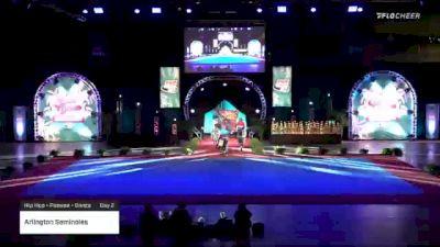 Arlington Seminoles [2020 Hip Hop - Peewee - Dance Day 2] 2020 Pop Warner National Cheer & Dance Championship