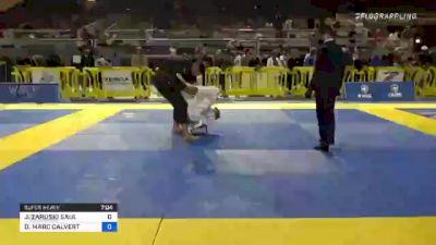 JAVIER ZARUSKI SAUL vs DANIEL MARC CALVERT 2021 Pan Jiu-Jitsu IBJJF Championship