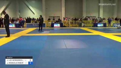 JOSEPH LEE MCMORRIS LL vs JOAO MARCELO RIBEIRO 2021 American National IBJJF Jiu-Jitsu Championship