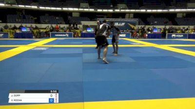 JARED DOPP vs VAGNER ROCHA World IBJJF Jiu-Jitsu No-Gi Championships