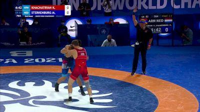 82 kg Final - Karen Khachatryan, Armenia vs Marcel Sterkenburg, Netherlands