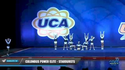 Columbus Power Elite - Starbursts [2020 L4 Senior - Small - D2 Day 1] 2020 UCA Smoky Mountain Championship