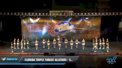 Florida Triple Threat Allstars - Sassy Coed [2021 L3 Junior - D2 - Medium Day 2] 2021 South Florida DI & DII Nationals