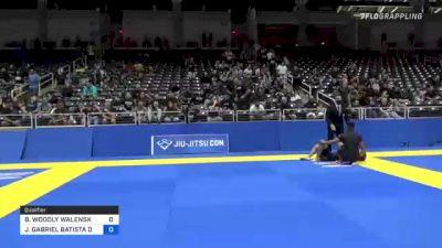 BRANDON WOODLY WALENSKY vs JOÃO GABRIEL BATISTA DE SOUSA 2021 World IBJJF Jiu-Jitsu No-Gi Championship