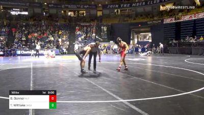 165 lbs Prelims - Brett Donner, Rutgers vs Travis Wittlake, Oklahoma State