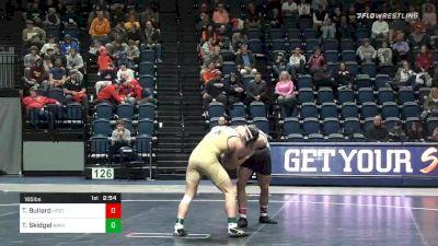 165 lbs Semifinal - Thomas Bullard, NC State vs Tanner Skidgel, Navy