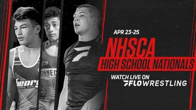 Full Replay: Mat 1 - NHSCA High School Nationals - Apr 25