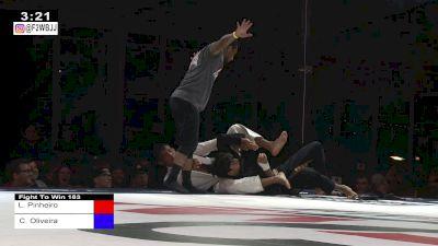 Lucas Pinheiro Jumps Onto Choke From The Back