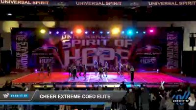 Cheer Extreme - Kernersville - Coed Elite [2021 Senior Small Coed 6 Day 1] 2021 Universal Spirit: Spirit of Hope National Championship