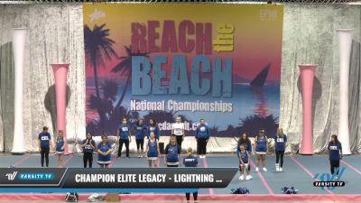 Champion Elite Legacy - Lightning Bolts [2021 L2 - CheerABILITIES - Exhibition] 2021 Reach the Beach Daytona National